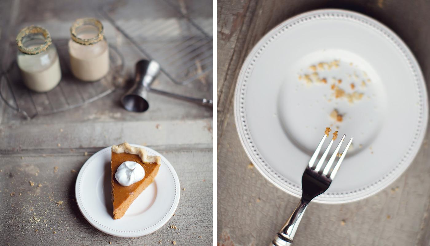the elle in love, pumpkin pie martini, rum chata, recipe