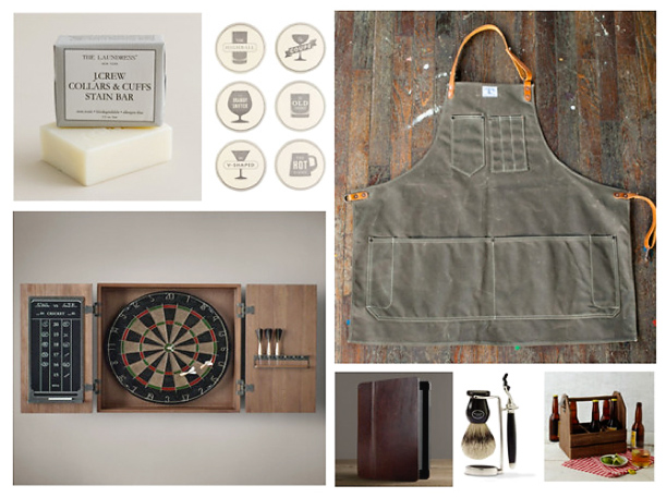 gifts for him, jcrew, restoration hardware, west elm,