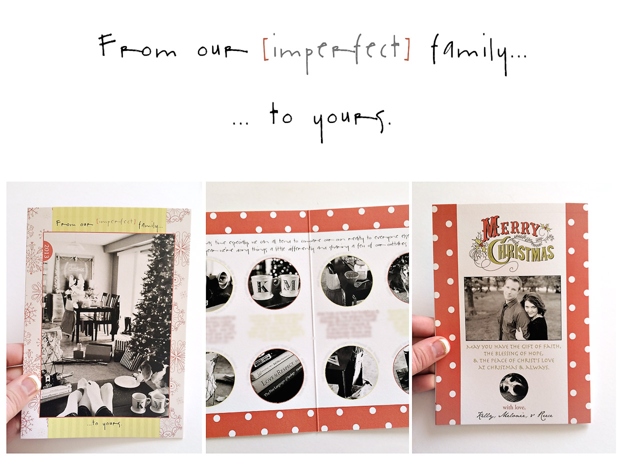 the elle in love, original christmas card ideas, marriage, holiday cards