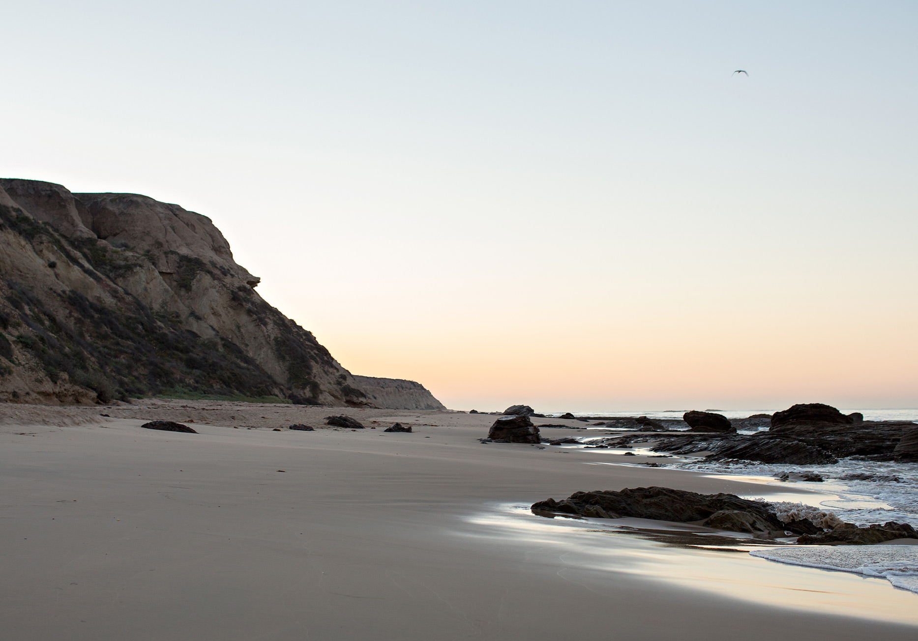 the elle in love, crystal cove state park, california, sunrise on the beach, intentional marriage