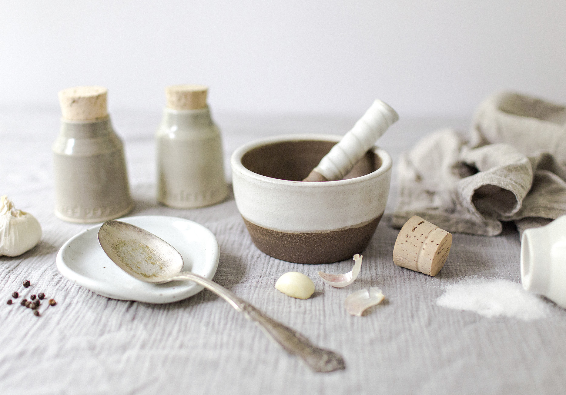 the elle in love, intentional home, curating the common, heirloom ceramics